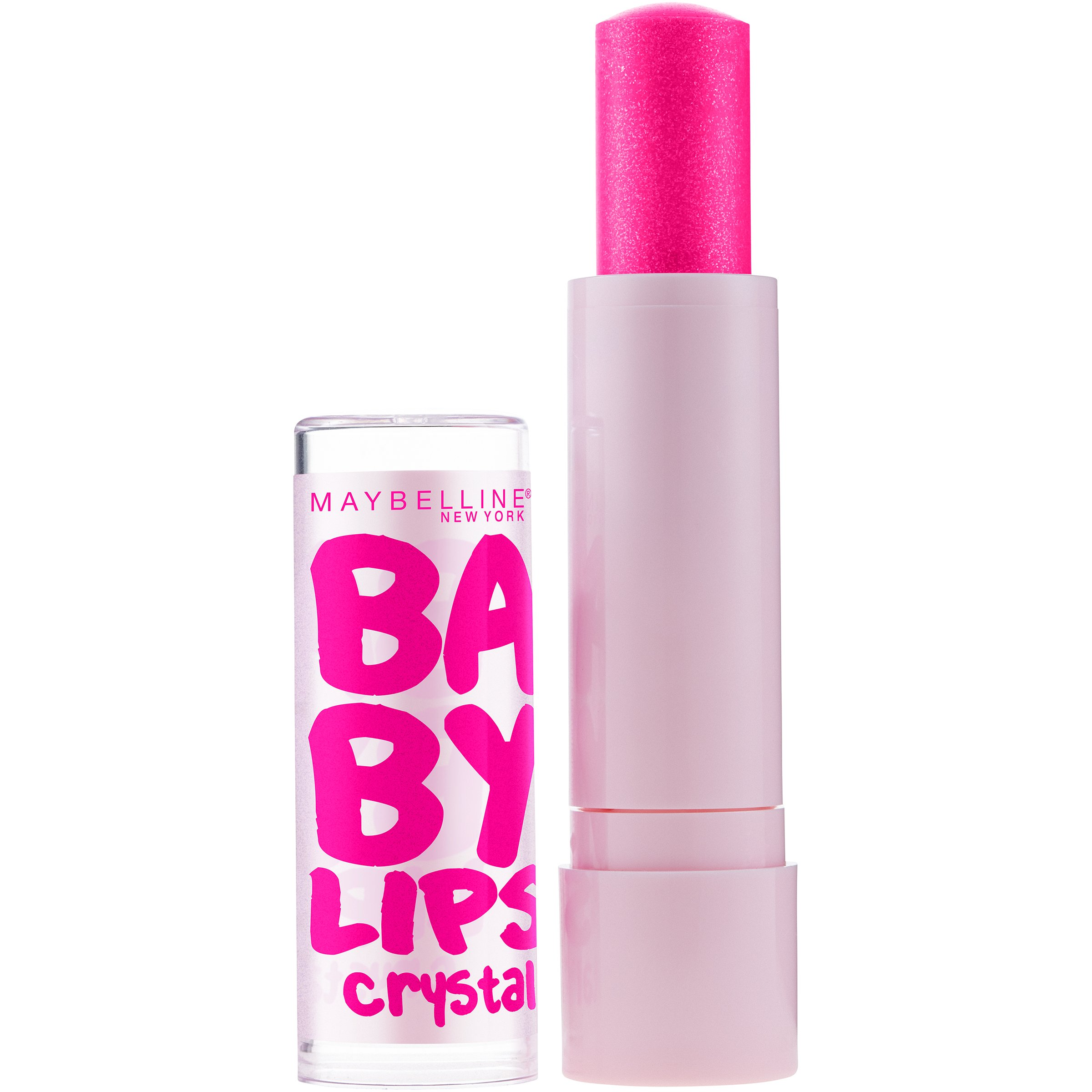 Maybelline New York Baby Lips Crystal Lip Balm, Pink Quartz [140] 0.15 oz