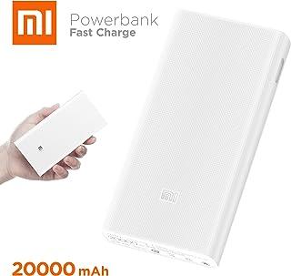 Xiaomi Power Bank 20000mAh 2C Dual USB Quick Charger - White