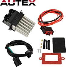 AUTEX HVAC Blower Motor Resistor Module Kit RU-358 5012699AA 3A1102 Replacement for Jeep Grand Cherokee 1999 2000 2001 2002 2003 2004 Automatic Temperature Control Blower Resistor