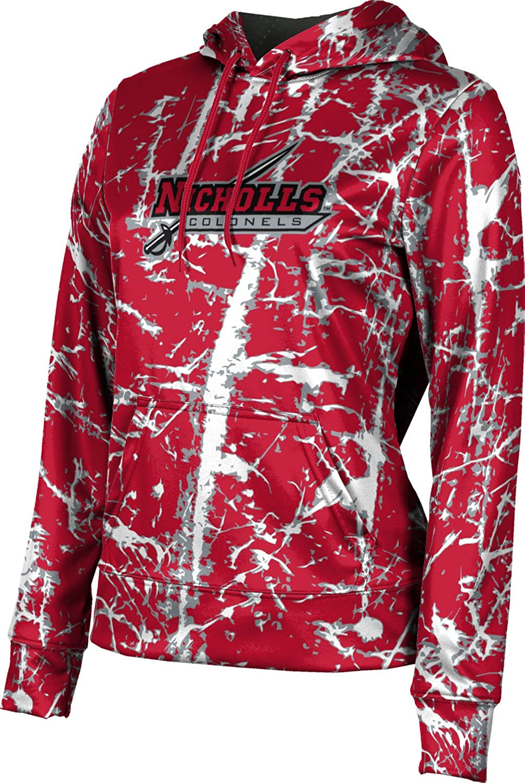 ProSphere Nicholls State University Girls' Pullover Hoodie, School Spirit Sweatshirt (Distressed)