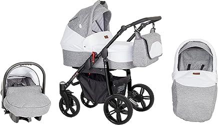 Amazon.es: cochecitos de bebe 3 piezas - Carritos con capazo ...