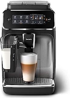 فيليبس الة صنع قهوة الإسبريسو الأوتوماتيكية بالكامل ,اسود, EP3246/73