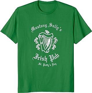 Irish Pub Crawl Shirt, Mustang Sally's Pub Irish Tee