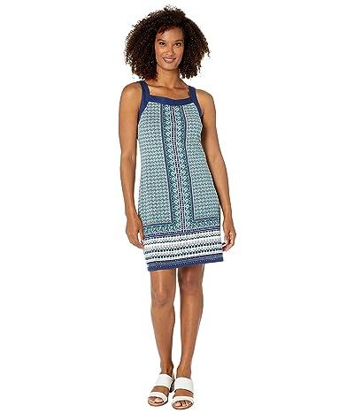 Tommy Bahama Geo Mesa Shift Dress (Cloud) Women