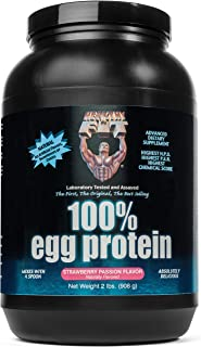 Healthy 'n Fit 100% Egg Protein 2-pound Bottle Strawberry, Tub