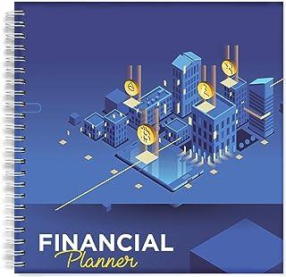 NA Budget Planner   お金を管理し続ける8×8 財務オーガナイザー   予算を整理するのに最適な財務ノート   会計士用請求書オーガナイザー