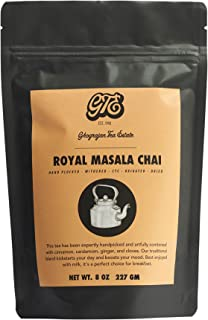 Loose Chai Tea (100+Cups) - Fresh 2019 Harvest - Assam Black Tea Blended With Organic Spices - Direct from Our 5th Generation Tea Estate in India - Great for Chai Latte and Cold Brew Chai - 8 oz Pouch