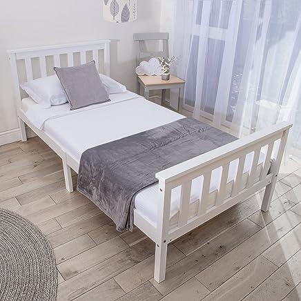 Excellent Amazon Co Uk White Beds Frames Bases Bedroom Home Interior And Landscaping Ponolsignezvosmurscom