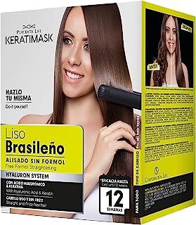 Be Natural Kit de Alisado Brasileño con Keratina Verde