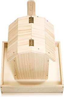 Bird Feeder - DIY Kit in Gold Stamping Box: Screws and Screwdriver Included. Age 6 and up