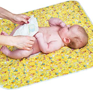 "Changing Pad - Diaper Change Pad Large Size (25.5""x31.5"") - Portable Waterproof Baby Changing Pad for Girls Boys Newborn - Multi-Function Storage Bag for Travel Changing Mat"