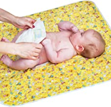 """Changing Pad - Diaper Change Pad Large Size (25.5""""x31.5"""") - Portable Waterproof Baby Changing Pad for Girls Boys Newborn - Multi-Function Storage Bag for Travel Changing Mat"""