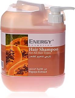 ENERGY COSMETICS Hair Shampoo with Papaya Extract, 5 Litre