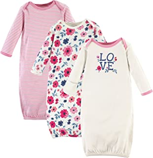 Touched by Nature Unisex Baby Organic Cotton Gowns