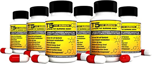 x6 Original T5 Fat Burners Scientifically Backed Slimming Weight Loss Diet Pills 6 Month Supply Estimated Price : £ 54,49