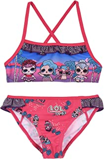 Entertainment LOL Surprise ET1813 - Disfraz de dos piezas, bikini, poliéster, niña