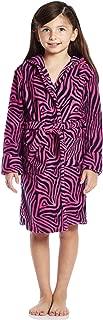 girls zebra robe