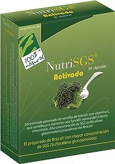 100% natural NutriSGS Vitaminas - 30 Cápsulas