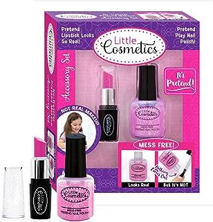 Little Cosmetics Pretend Nail Polish & Lipstick Accessory Playset
