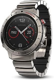 Garmin Fenix Chronos, Titanium with Brushed Titanium Hybrid Watch Band