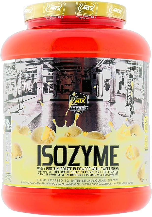 MTX nutrition ISOZyme [907 Gramos] 2 Lbs. Chocolate-Avellana, Aislado de Suero Premium Ultra-Microfiltrado