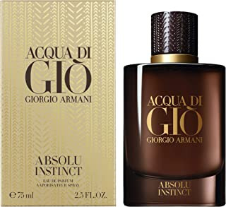 Giorgio Armani Men Acqua di Gio Absolu Instinct Eau de Parfum Spray, 2.5 Oz