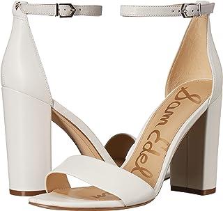 e17937806c14 Amazon.com  White - Heeled Sandals   Sandals  Clothing