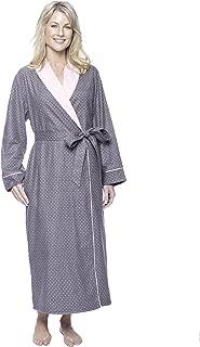 Women's Premium Flannel Fleece Lined Robe