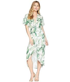 Zip Twisted Maxi Dress