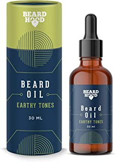 Beardhood Earthy Tones Beard Oil 30ml
