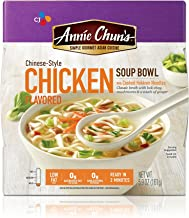 Annie Chun's Chicken Soup Bowl with Hokkien Noodles, Chinese-Style, 5.7-oz (Pack of 6)