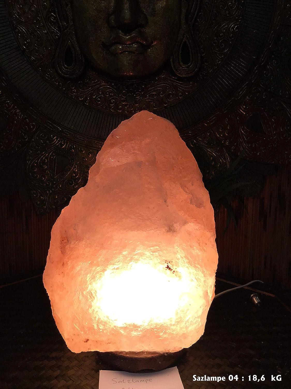 Salz Lampe The Mount Everest-Kollektion mit Beleuchtung SalzStein Kristall Unikat Salz lampe Dekoration No. 04   18,6 Kg