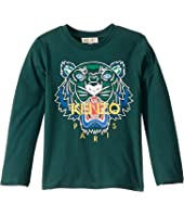 Kenzo Kids - Tiger Long Sleeve T-Shirt (Toddler/Little Kids)