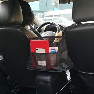 SURDOCA De sac à main pour organisateur de voiture, sac de filet de siège avec coussin, support de sac à main pour voitur...