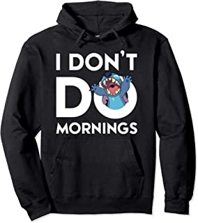 Stitch Don't Do Mornings Pullover Hoodie