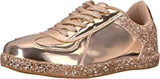 Best qupid rose gold glitter sneakers Reviews