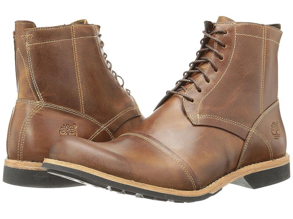 Timberland Earthkeeperstm 6 Zip Boot (Light Brown) Men's Zip Boots