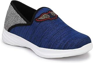 HEEDERIN Men's Blue Mesh Slip on Comfortable Sport's Shoe 8 UK