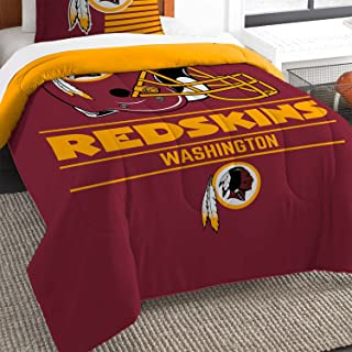 The Northwest Co mpany NFL Washington Redskins Draft Twin 2-piece Comforter Set