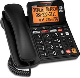 AT&T CD4930 Corded Phone with Digital Answering System and Caller ID, Extra-Large..