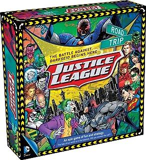 Aquarius DC Comics Justice League of America Road Trip Board Game