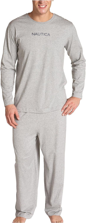 Nautica Sale SALE% OFF Men's Solid Knit Jersey Superlatite Long Pant Sleeve Tee with raglan