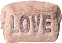 Faux Fur Love Cosmetic Bag