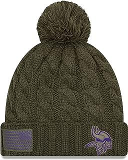 New Era Women 2018 Salute to Service Sideline Cuffed Knit Hat – Olive