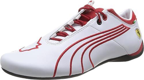 Puma Ferrari Future Cat M1 Tifo, Baskets Basses Homme, Blanc ...