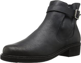 Walking Cradles Women's Devin Ankle Boot, Black Saddle, 10 M US