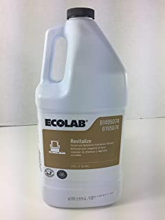 ECOLAB Revitalize Carpet and Upholstery Extraction Cleaner 6195074 - 1 Gallon