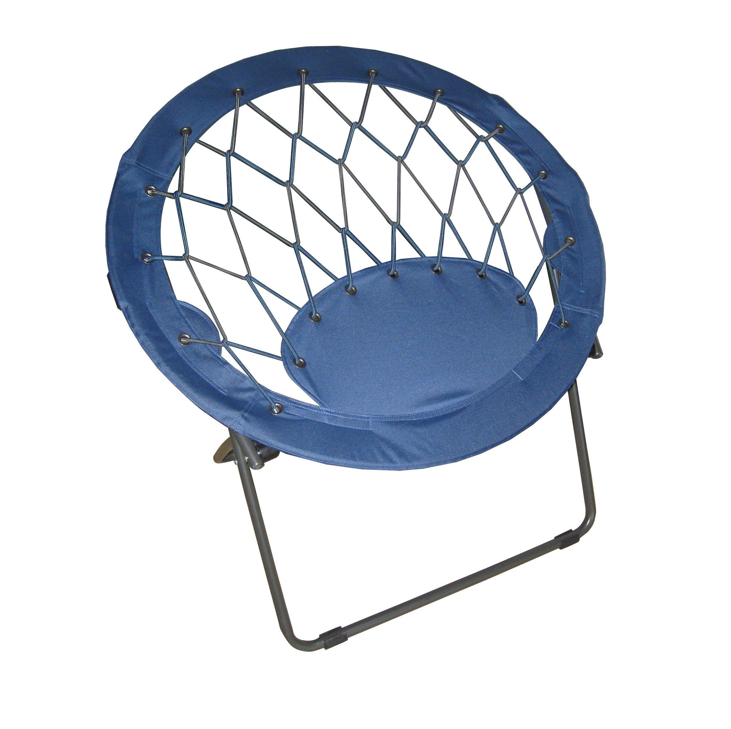 Zenithen IC504S BUN3 TV1 Bungee Chair Blue