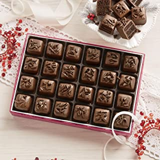 Royal Chocolate Petits Fours, Gift of 24 from The Swiss Colony