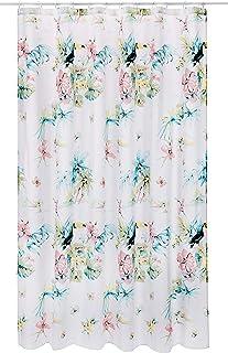 Spirella IBIS Textile Curtain 180 x 200 1232674, White, Standard